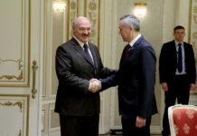 Андрей Травников встретился с президентом Беларуси Александром Лукашенко