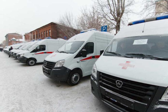 24 новых автомобиля скорой помощи получили больницы Новосибирской области