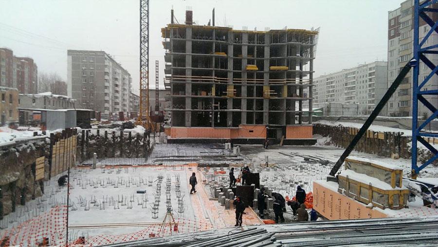 Стройплощадка ЖК «Расцветай на Гоголя»