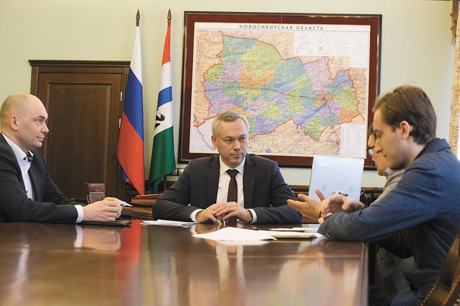 Интервью губернатора Андрея Травникова
