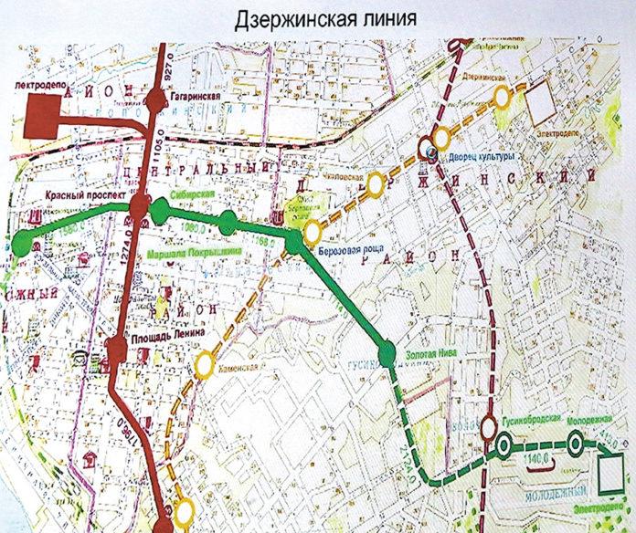 Миниатюра для: Мечты о новосибирском метро разбились об экспертизу
