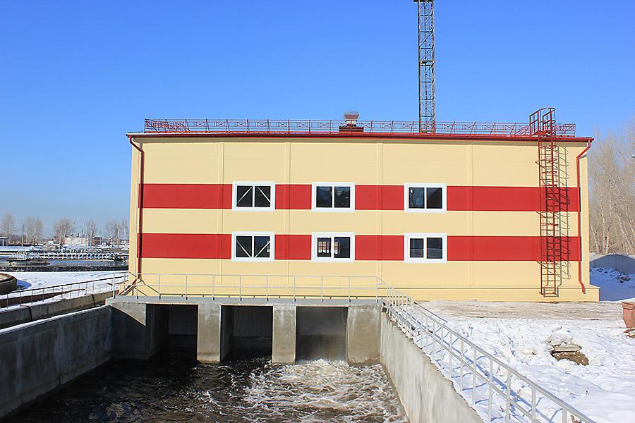 Здание блока УФО на ОСК