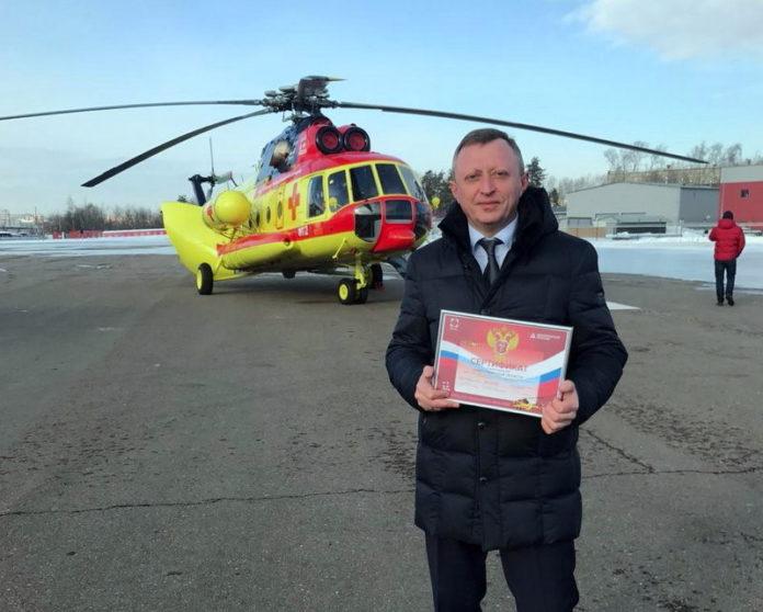 Новосибирская область в числе первых в стране получила вертолет санавиации