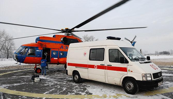 Национальная служба санитарной авиации получила 8 новых вертолетов