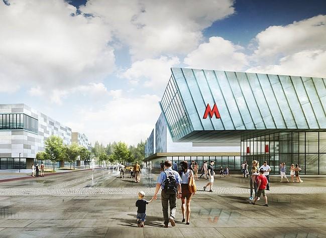 Новосибирская станция метро «Спортивная» заработает в первом полугодии 2022 года