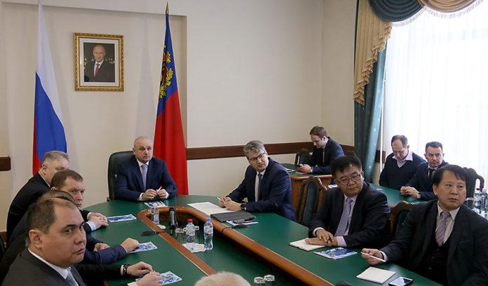 Корейские технологии для подавления угольной пыли заинтересовали губернатора Кузбасса
