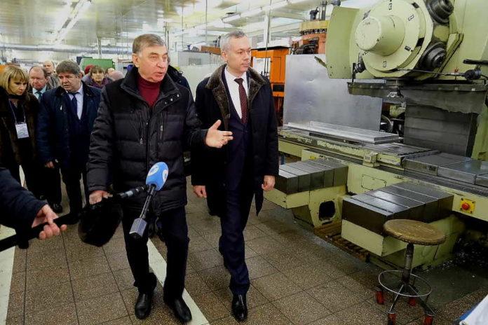 Андрей Травников побывал с рабочим визитов в Бердске