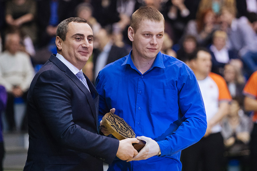 Александр Солодкин провел в Новосибирске соревнования по баскетболу