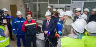 Анатолий Локоть проверил работу новосибирской ТЭЦ-5