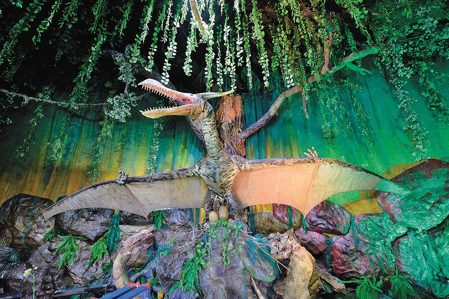 Аквапарк юрского периода - Изображение