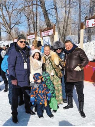 Семья Ивановых и Терешковых