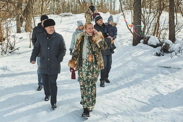 Анатолий Локоть и Анна Терешкова