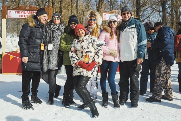 Семья Верба, Елена Гончарова, Оксана Марченко и семья Болдыревых