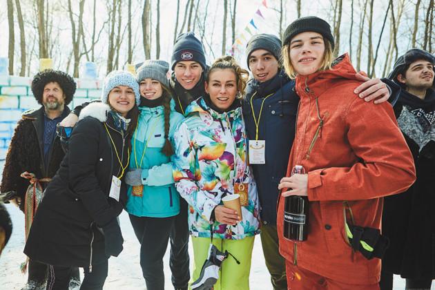 Ирина Асанцева с сыновьями