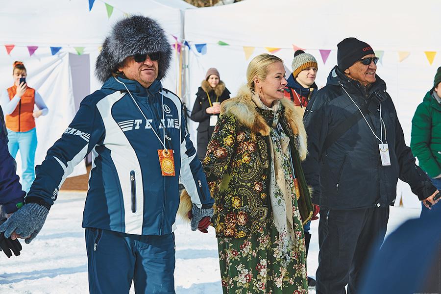 Дмитрий и Анна Терешкова, Александр Вяткин