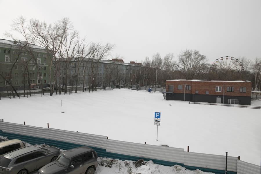 Кому достанется «зелень»: депутат Дмитрий Дамаев — о ситуации с участком на саде Кирова в Новосибирске - Фотография