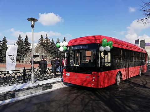 Первые в Сибири Smart троллейбусы вышли на линию в Новокузнецке