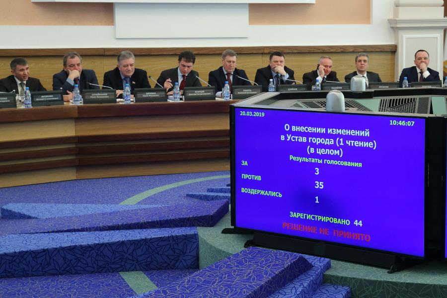 Депутаты Новосибирска решили судьбу второго тура выборов мэра города