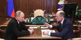 Владимир Путин назначил врио главы Алтая Олега Хорохордина