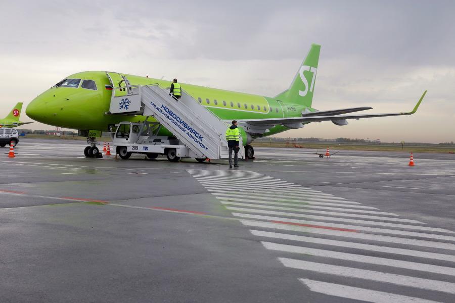 S7 Airlines открывает рейсы из Новосибирска в Новокузнецк и Томск