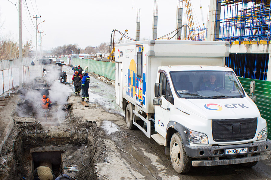 Сибирская генерирующая компания летом сосредоточится на ремонтах магистральных теплосетей Новосибирска
