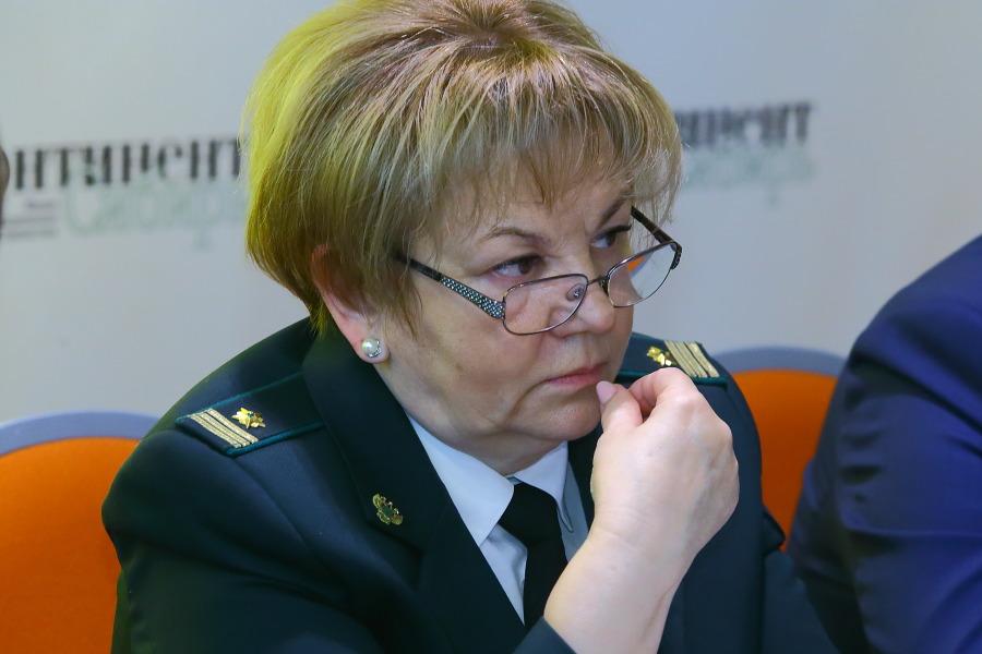 Руководитель Сибирского межрегионального территориального управления Росстандарта Людмила Гаталай