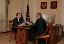 Губернатор Алтайского края обсудил с бизнес-омбудсменом меры поддержки предпринимателей