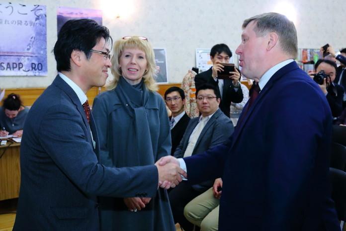 Анатолий Локоть обсудил с японской делегацией развитие экономических связей