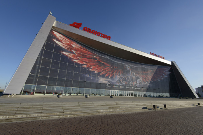 Миниатюра для: Арена борьбы: примет ли Омск молодежный чемпионат мира по хоккею-2023?