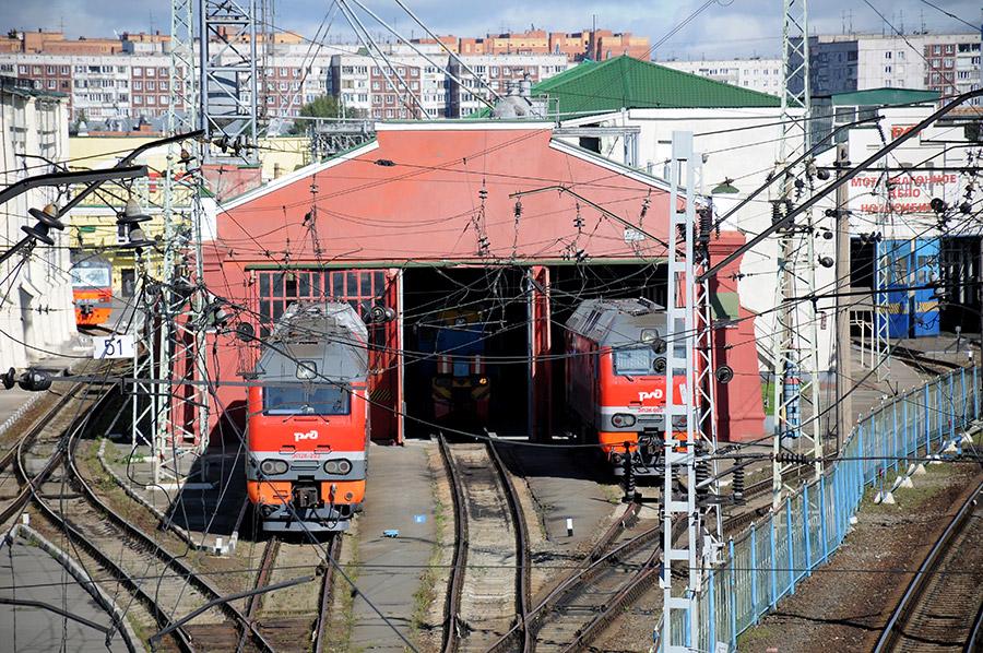 Локомотивный парк дороги ежегодно обновляется