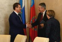 Мэр Барнаула провел рабочую встречу с Генеральным консулом ФРГ в Новосибирске