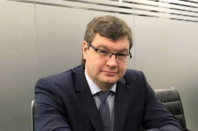 Управляющий сибирским филиалом Промсвязьбанка Денис Голубев