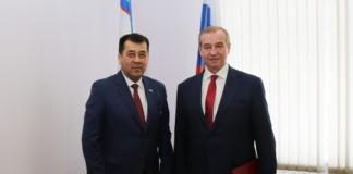 Губернатор Иркутской области и консул Узбекистана обсудили увеличение товарооборота вдвое