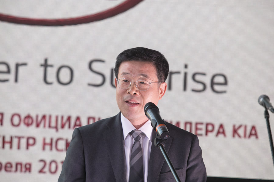 Президент «КИА Моторс Россия и СНГ» Джин-Ха Ким