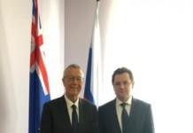 Посол Новой Зеландии в РФ высказал заинтересованность в сотрудничестве с Иркутской областью