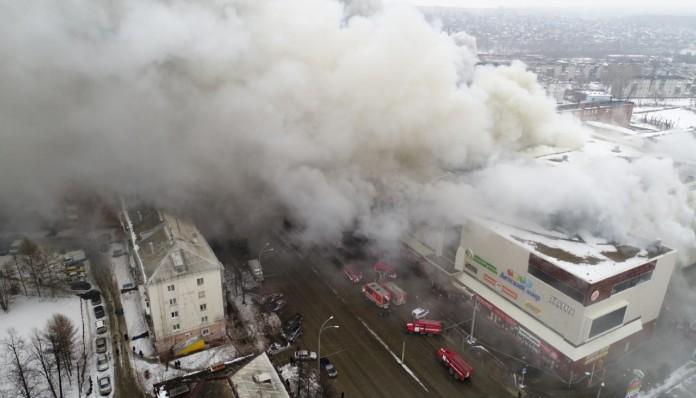 Первое уголовное дело по пожару в «Зимней вишне» направлено в суд