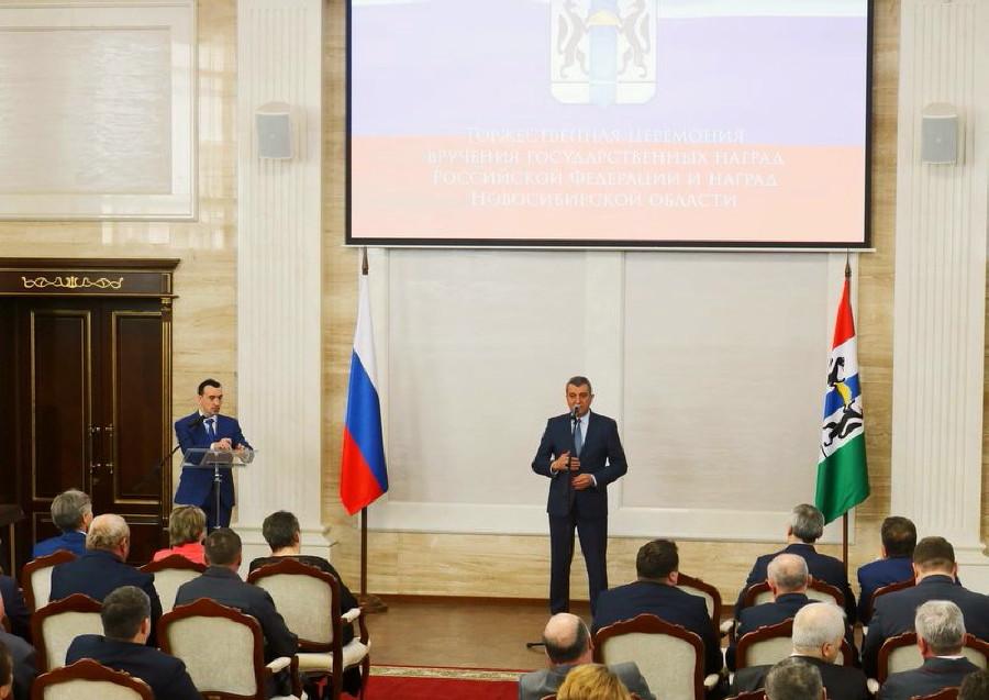 Выдающиеся жители Новосибирской области получили госнаграды РФ