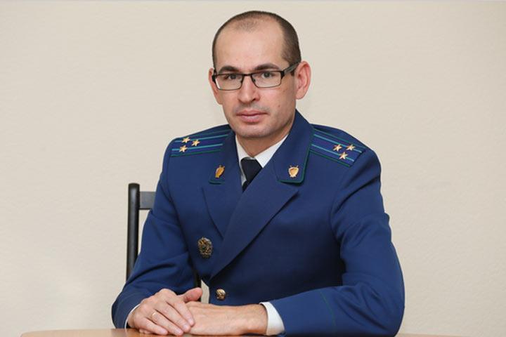 Генпрокурор РФ назначил на должность прокурора Абакана Михаила Кощеева