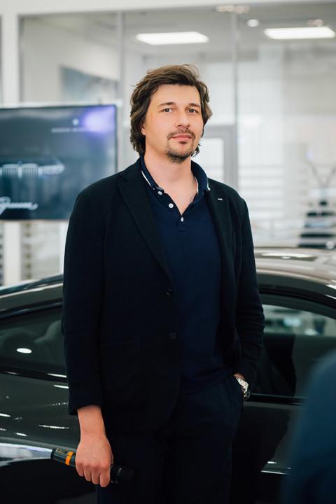 Эксперт по продукту BMW Group Russia Виталий Кабышев