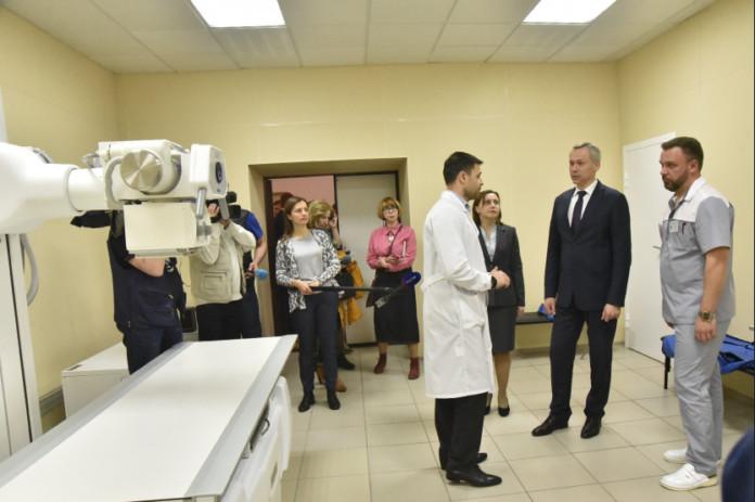 Андрей Травников: «В новом травмпункте нам хотелось создать комфортные условия для приема маленьких граждан»