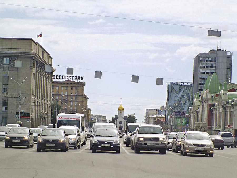Как разрубить узел транспортных проблем спальных жилмассивов Новосибирска? - Фотография