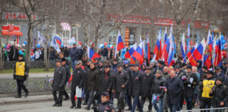 Мэр Новосибирска поздравил жителей города с Первомаем