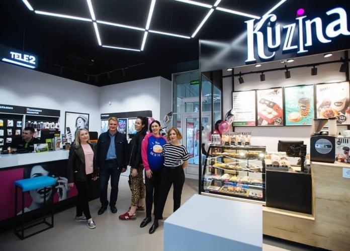 Миниатюра для: Новосибирская сеть Kuzina будет открывать кондитерские вместе с Tele2