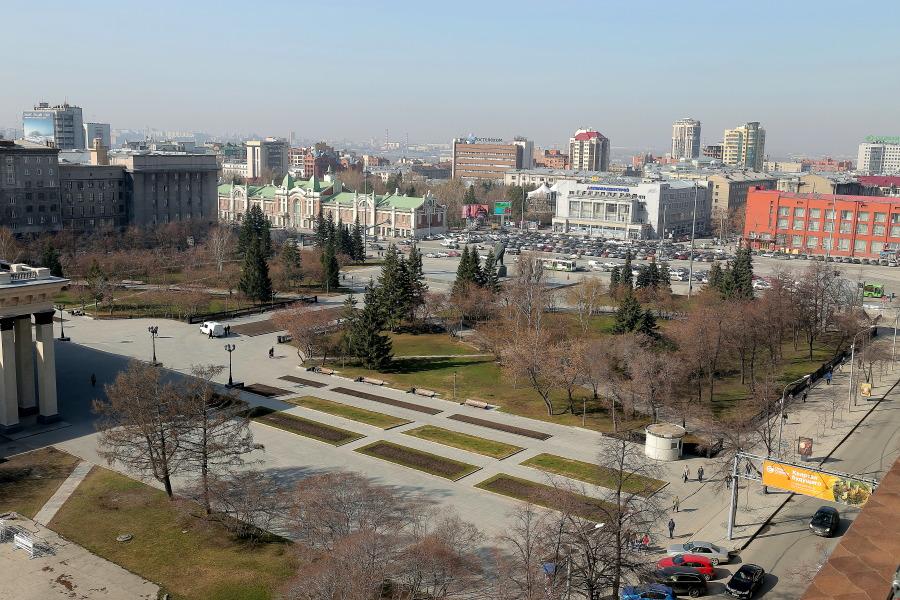 Сквер перед Новосибирским театром оперы и балета получил название «Театральный»