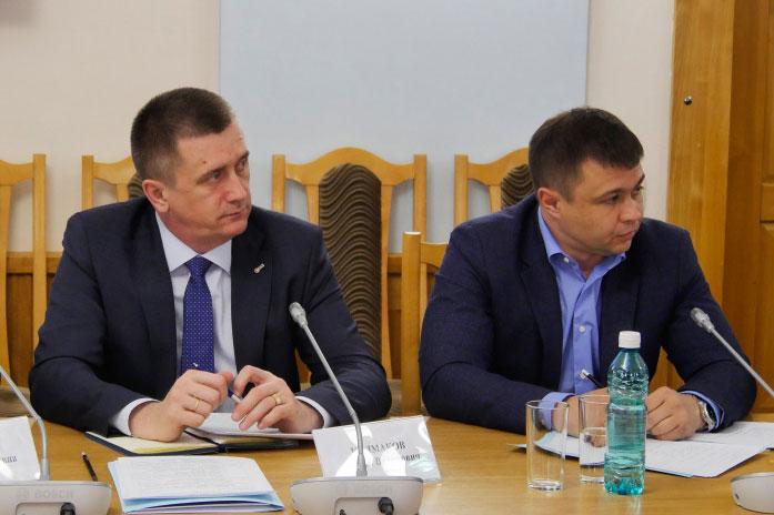 Андрей Колмаков и Антон Баев