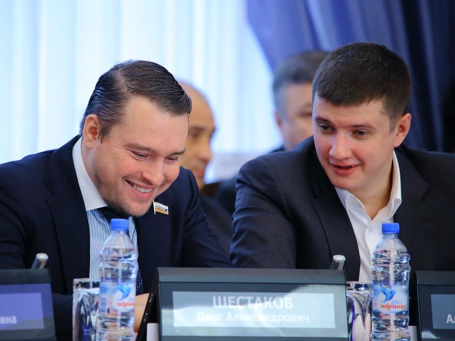 Олег Шестаков и Александр Савельев (слева направо)