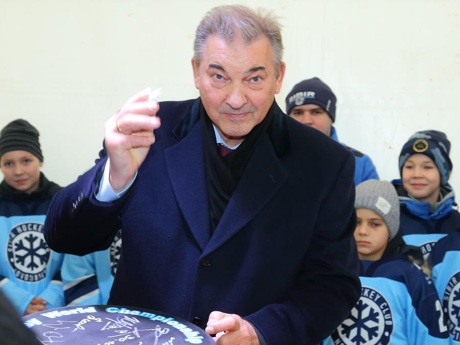 Владислав Третьяк подтвердил, что МЧМ по хоккею в 2023 году примет не только Новосибирск, но и Омск