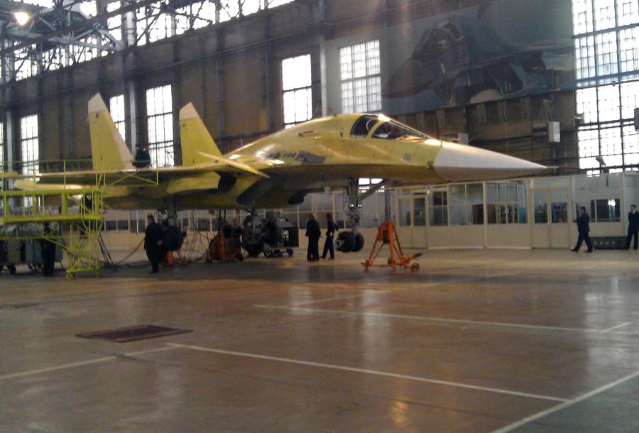 Объединенная авиастроительная корпорация опровергла слухи о переносе производства Су-34