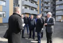 Анатолий Локоть поставил задачу сдать долгострой на Беловежской летом этого года