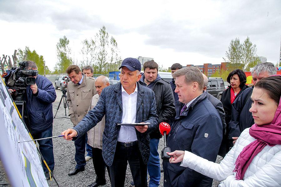 Анатолий Локоть: «Необходимо раньше срока закончить капремонт на улице Большевистской»